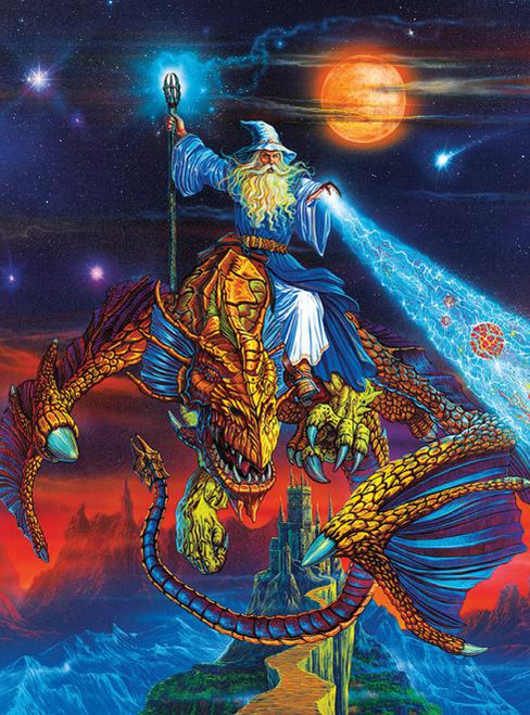 Dragons: Twilight Tempest - 1000pc Jigsaw Puzzle by Ceaco