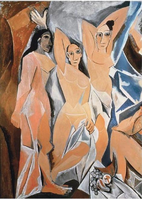 Les Demoiselles D'Avignon - 2000pc Jigsaw Puzzle by Tomax