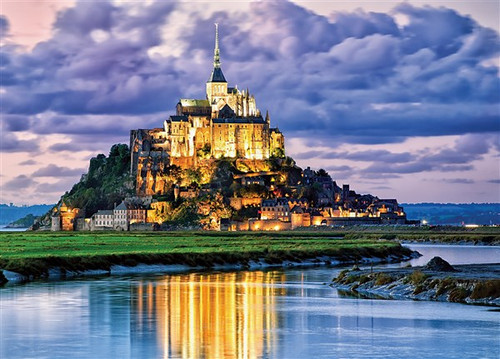 Mont St. Michel, France - 2000pc Jigsaw Puzzle by Tomax