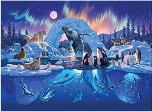 Arctic Harmony - 4000pc Jigsaw Puzzle By Tomax