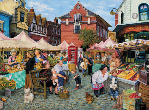 Farmers Market - 1000pc Jigsaw Puzzle By White Mountain