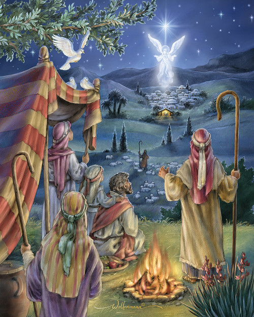 Following the Star - 1000pc Jigsaw Puzzle by Vermont Christmas Company