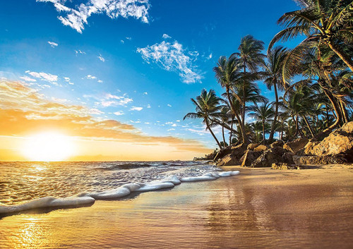Tropical Sunrise - 1500pc Jigsaw Puzzle by Clementoni