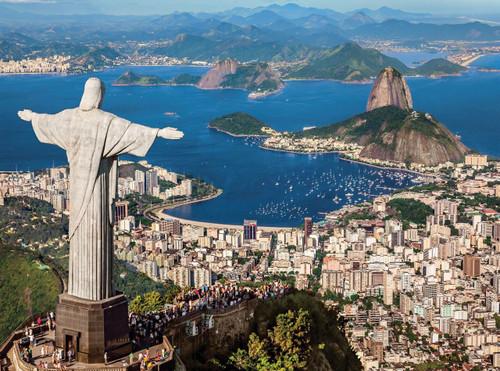 Rio de Janeiro - 500pc Jigsaw Puzzle by Clementoni