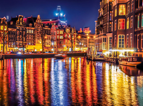 Amsterdam - 500pc Jigsaw Puzzle by Clementoni