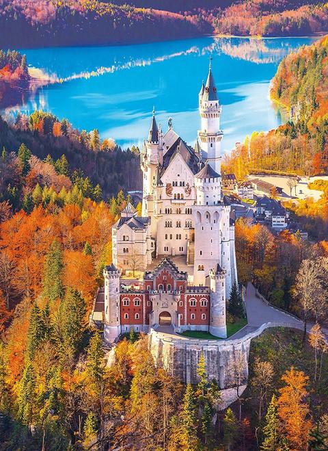 Neuschwanstein - 1000pc Jigsaw Puzzle by Clementoni