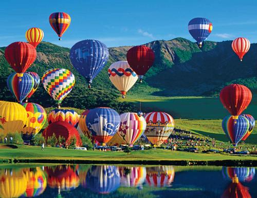 Balloon Bonanza - 350pc Jigsaw Puzzle by Springbok