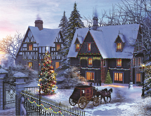 Home for Christmas - 350pc Jigsaw Puzzle By Springbok