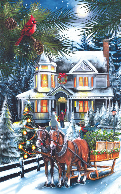 Here comes the Tree - 300pc Jigsaw Puzzle by Sunsout