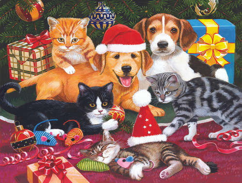 Christmas Meeting - 300pc Jigsaw Puzzle by Sunsout