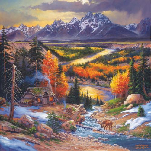 Fall Retreat - 500pc Jigsaw Puzzle by Sunsout