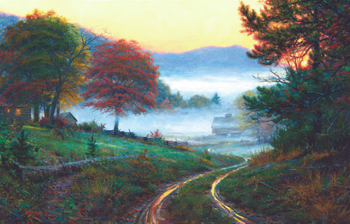 Morning at Cades Cove - 300pc Jigsaw Puzzle by Sunsout