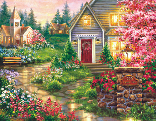 Serenity Lane - 1000+pc Jigsaw Puzzle by Sunsout