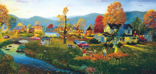 Yardwork - 1000pc Jigsaw Puzzle by Sunsout (discon-25837)