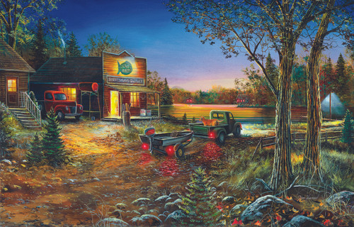 Sportsman's Outlet - 1000pc Jigsaw Puzzle by Sunsout