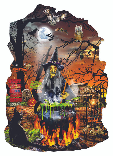 Witch's Brew - 1000pc Jigsaw Puzzle by Sunsout