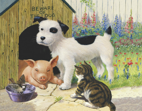 Unlikely Friends - 35pc Jigsaw Puzzle by Sunsout