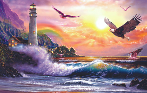 Peaceful Seascape - 30pc Jigsaw Puzzle by Sunsout