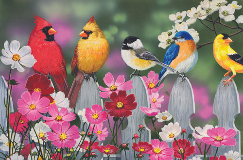 Songbirds - 30pc Jigsaw Puzzle by Sunsout