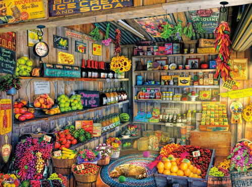 Farm Fresh - 1000pc Jigsaw Puzzle By Buffalo Games