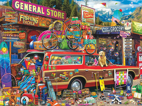 Family Vacation - 1000pc Jigsaw Puzzle By Buffalo Games