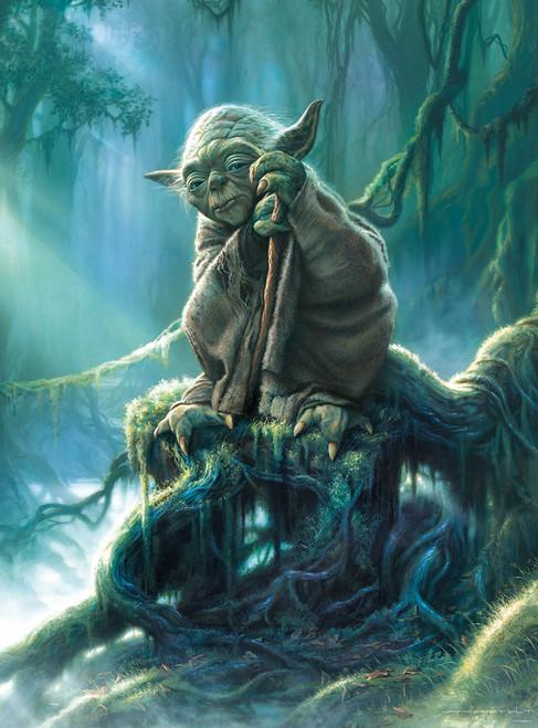 Star Wars: Yoda - 1000pc Jigsaw Puzzle By Buffalo Games