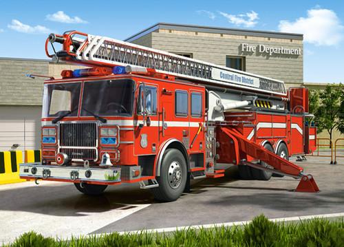 Fire Engine - 260pc Jigsaw Puzzle By Castorland
