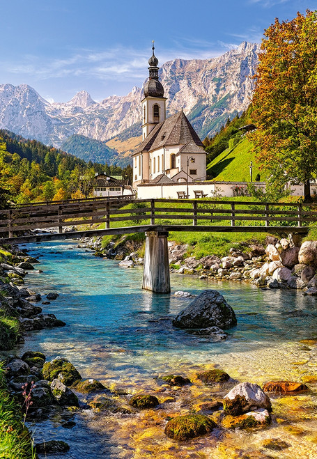 Ramsau, Germany - 1500pc Jigsaw Puzzle By Castorland