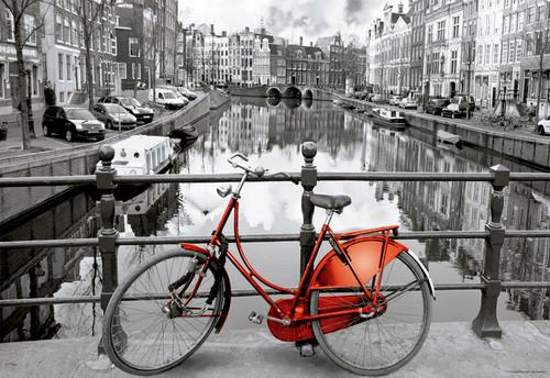 Amsterdam  - 1000pc Miniature Jigsaw Puzzle by Educa