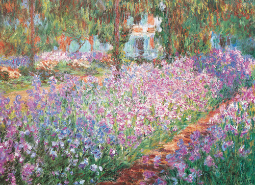 Monet: Monet's Garden - 100pc Jigsaw Puzzle By Eurographics