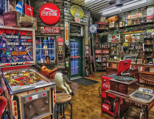 Good Nabor Stores - 500pc Jigsaw Puzzle By Springbok