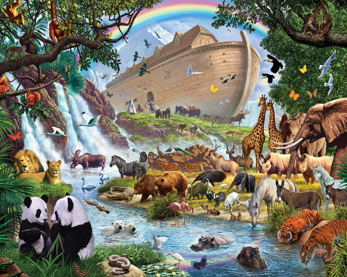 Noah's Ark - 1000pc Jigsaw Puzzle by Vermont Christmas Company