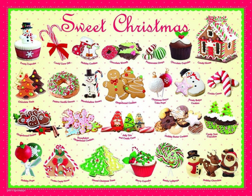 Sweet Christmas - 100pc Jigsaw Puzzle by Eurographics