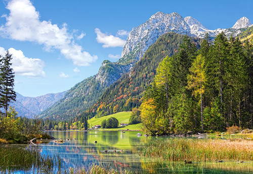 Hard Jigsaw Puzzles - Mountain Refuge in the Alps