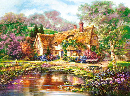 Twilight at Woodgreen Pond - 3000pc By Castorland