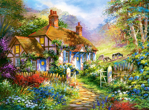 Forest Cottage - 3000pc By Castorland