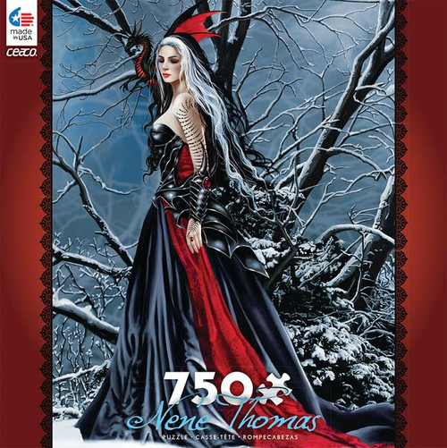 Nene Thomas: Shadows and Snow - 750pc Jigsaw Puzzle by Ceaco
