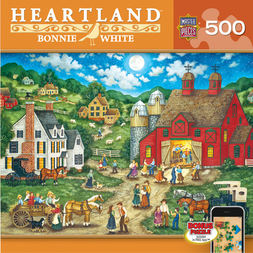 Masterpieces Friday Night Hoe Down Jigsaw Puzzle