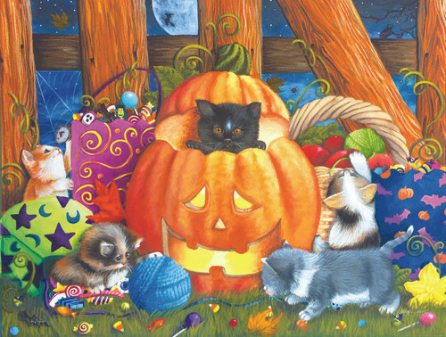 Surprise Halloween - 300pc Jigsaw Puzzle By Sunsout