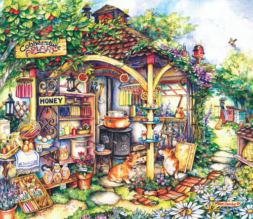 The Apiary - 550pc Jigsaw Puzzle By Sunsout