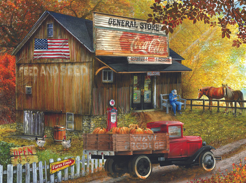 Seed and Feed General Store - 300pc Jigsaw Puzzle By Sunsout