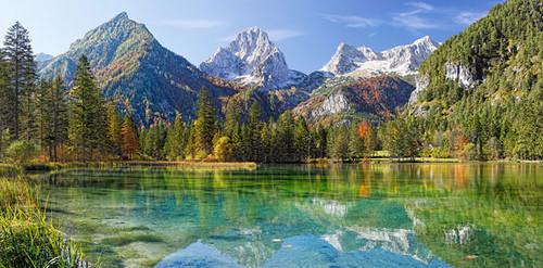Hard Jigsaw Puzzles - Majesty of the Mountains