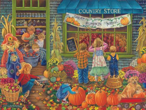 Great Pumpkin Festival - 500pc Jigsaw Puzzle By Sunsout