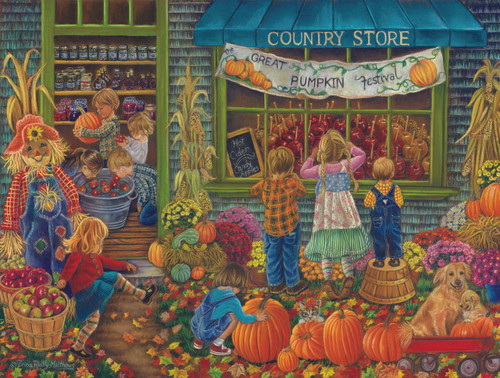 Pumpkin Festival - 300pc Jigsaw Puzzle By Sunsout