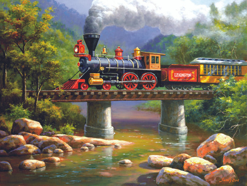 The Lexington Express - 300pc Jigsaw Puzzle By Sunsout
