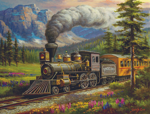 Rockland Express - 500pc Jigsaw Puzzle By Sunsout
