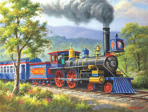 The Junction Express - 300pc Jigsaw Puzzle By Sunsout