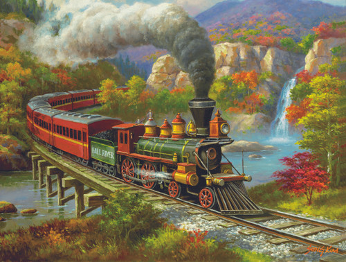 Fall River Ltd. - 500pc Jigsaw Puzzle By Sunsout