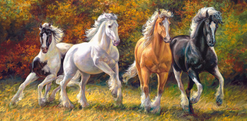Born to Run - 4000pc Jigsaw Puzzle By Castorland