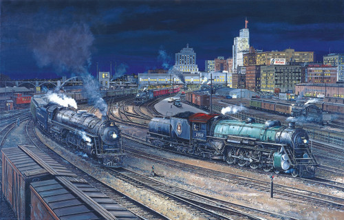 Night Activity at th S.P.U.D. - 1000pc Jigsaw Puzzle By Sunsout